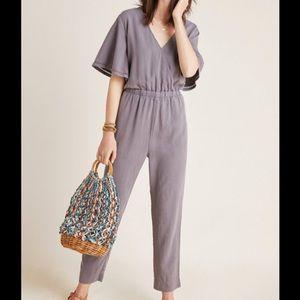 Anthropologie Cloth and Stone Gulpiyuri Jumpsuit